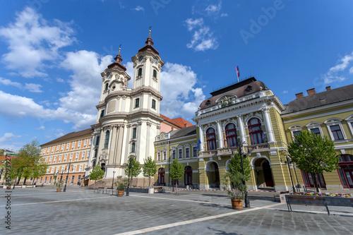 Obraz na plátně Minorite church in Eger, Hungary