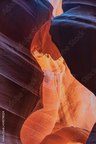 Red Rocks in Antelope Canyon Arizona