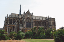 Low Angle View Of Arundel Cath...