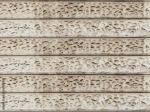 grey ashlar plaster wall background Canvas Print