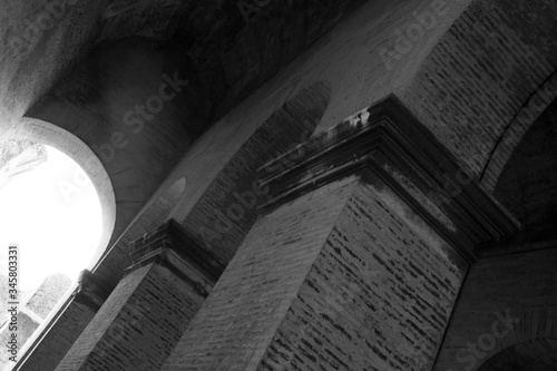 Low Angle View Of Historic Building - fototapety na wymiar