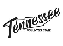 Tennessee Vector Silhouette. N...