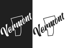 Vector Illustration Of Vermont...