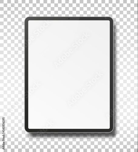 Tablet pc computer with blank screen. #345836395