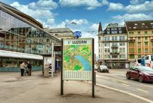 LUZERN, SWITZERLAND - APRIL 11...