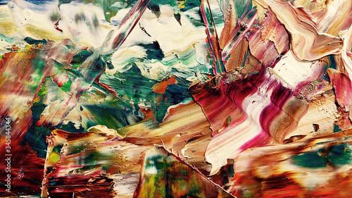 Fotografija Colorful abstract background wallpaper