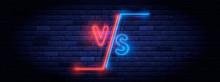 Illuminated Neon Versus Screen...
