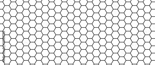 Foto Hexagon seamless pattern