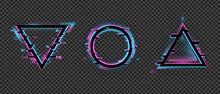 Geometric Distorted Frame. Col...
