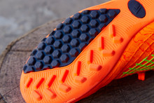 Sole Of Soccer Shoes,close Up ...