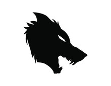 Illustration Logo Mascot Wolf
