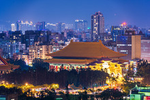 Taipei, Taiwan Cityscape Towar...