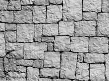 Full Frame Shot Of Old Stone Wall