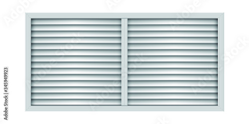 Two section plastic air vent Fototapet