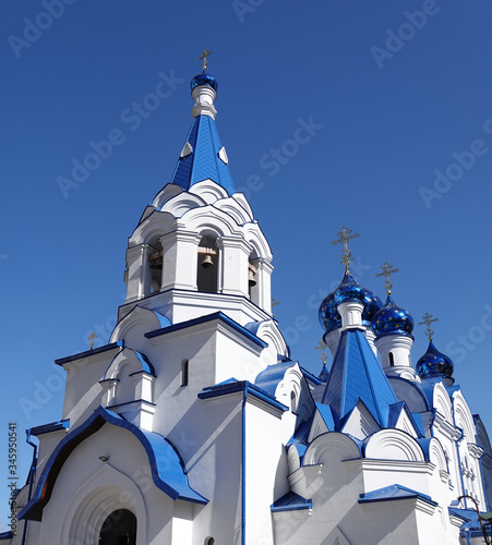 Church of the Assumption of the Blessed Virgin Mary in Kiev Canvas Print