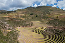 Mysterious Constructions In Moray, The Peruvian Andes