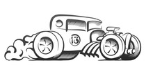 Abstract Hot Rod Graphically, ...