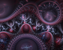 Fractal Julian Steampunk Jewel...