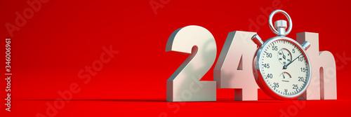24 hours limit Fototapeta