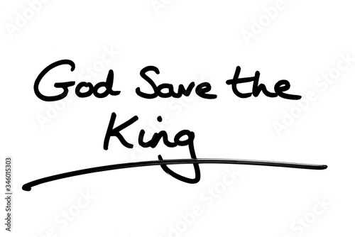 Photo God Save the King