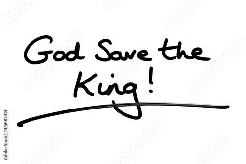 God Save the King! Canvas Print