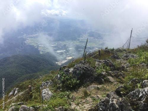 Платно Lush landscape of Mount Ibuki