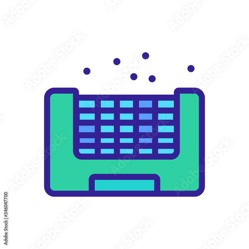 Photo insect bait icon vector