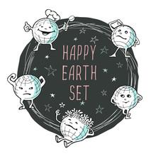 Vector Image Of Cartoon Happy ...