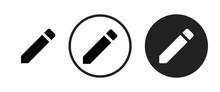 Mode Edit Icon . Web Icon Set ...