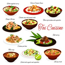 Thai Cuisine Meals, Traditiona...