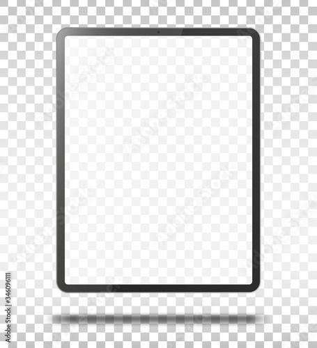Fototapeta Tablet pc computer with blank screen. obraz na płótnie