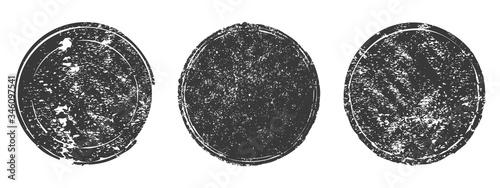 Cuadros en Lienzo Collection retro circle shapes