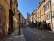Medieval European Streets that are deserted due to Coronavirus quarantine
