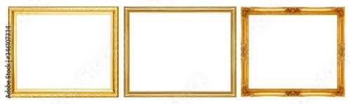 Foto Golden picture frame