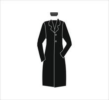 Medical Woman Uniform. Illustration For Web And Mobile Design.