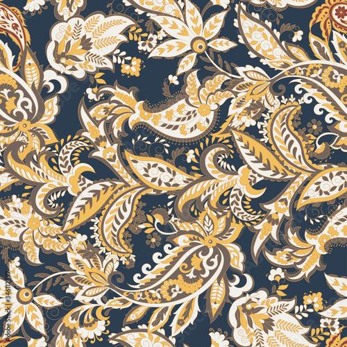 Tapety kolonialne  paisley-kwiatowy-orientalny-wzor-etniczny-wektor-bezszwowe-ozdobne-indyjskie-tkaniny-wzory