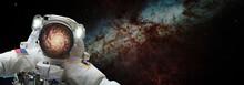 Spaceman Astronaut In Outer De...