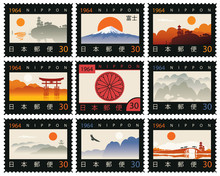 Set Of Vector Postage Stamps I...