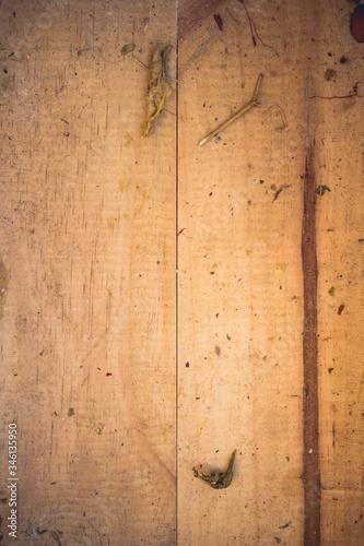Fondo vintage antiguo de madera perfecto para hipster, estilo moderno y antiguo Canvas Print
