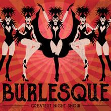 Burlesque Show Poster Invitati...