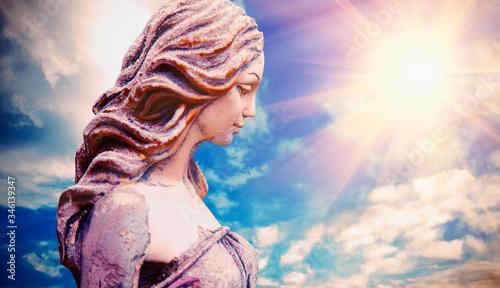 Fototapeta Olympic goddess of love and beauty in antique mythology Aphrodite (Venus)