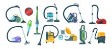 Vacuum Cleaner Equipment Carto...