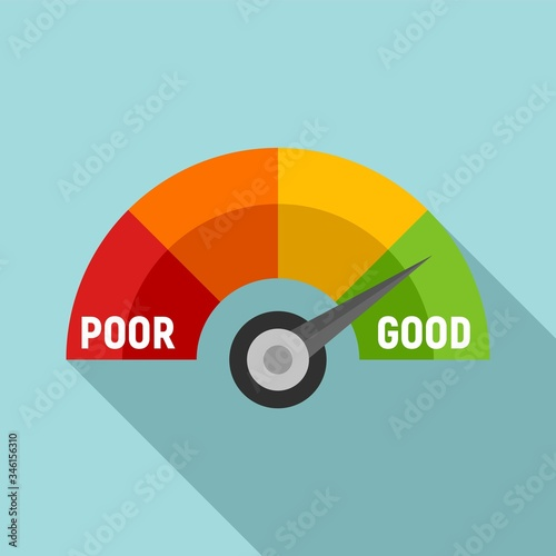 Fotografie, Tablou Good scale score icon