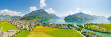 Panorama Of The Canton Of Schw...