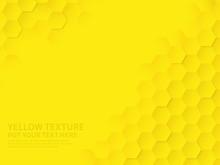 Hex Texture. Yellow Honeycomb ...