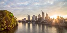 Skyline In Frankfurt Am Main, ...