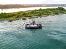 The Patrol Panamanian Tug Boat...