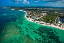 Punta Cana Bavaro Beach Aerial...