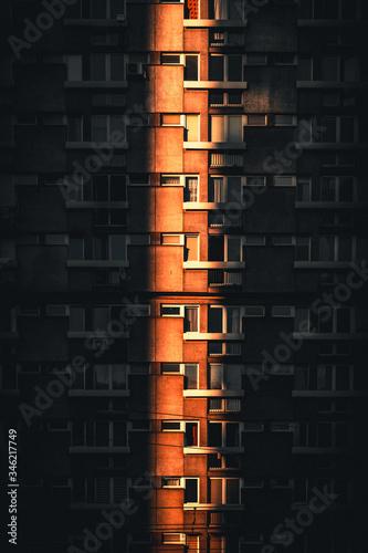 Obraz Miejski Kontrast - fototapety do salonu