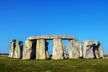 Closeup Of Stonehenge Standing...